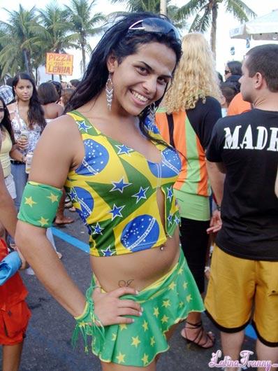 Nicole Montero at LatinaTranny.com