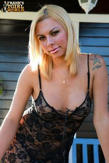 Angel Starr back on Franks T-Girl World